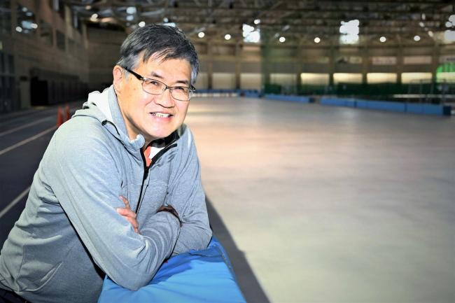 元帯南商高スケート監督の東出さん 少年団創設を計画