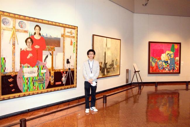 鹿追 日勝美術館で「画家たちの座標」展始まる