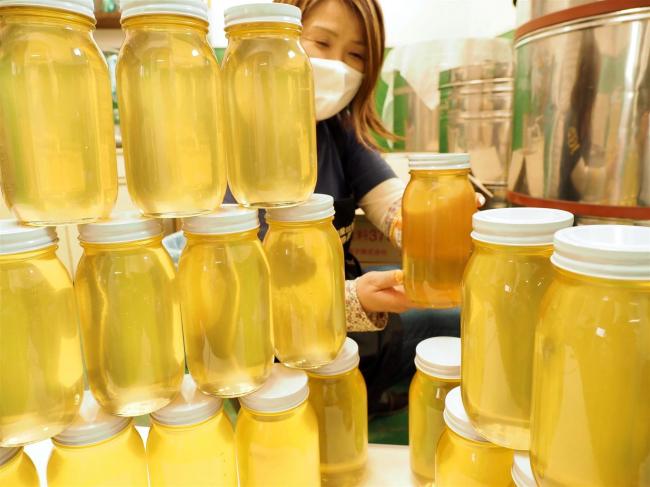 甘さに自信あり 十勝養蜂園でアカシア蜂蜜の生産始まる