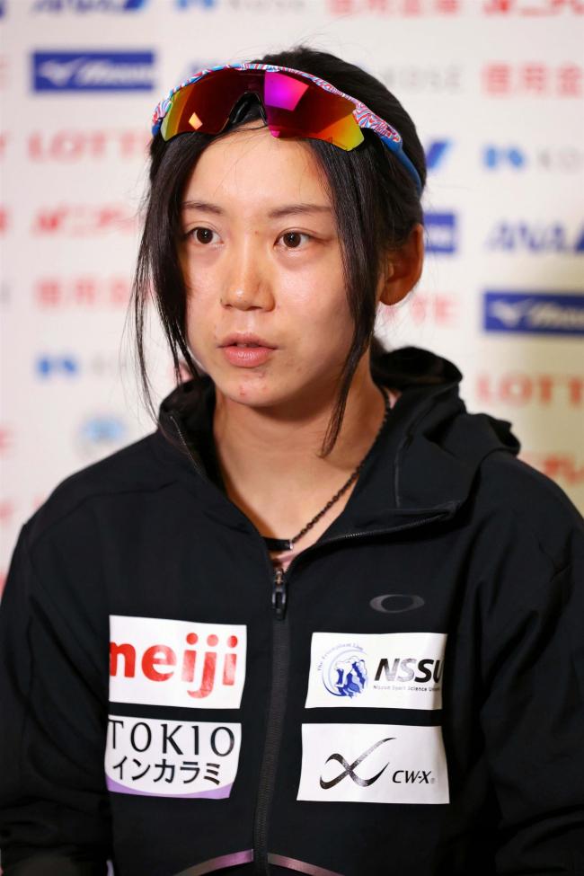 「北京で1500、1000Mで1番を」高木美帆らスピードスケートナショナルチーム記者会見