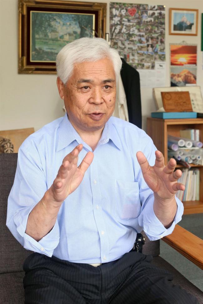 高橋氏7選不出馬 「70歳の節目、新しい人に」 本別町長選
