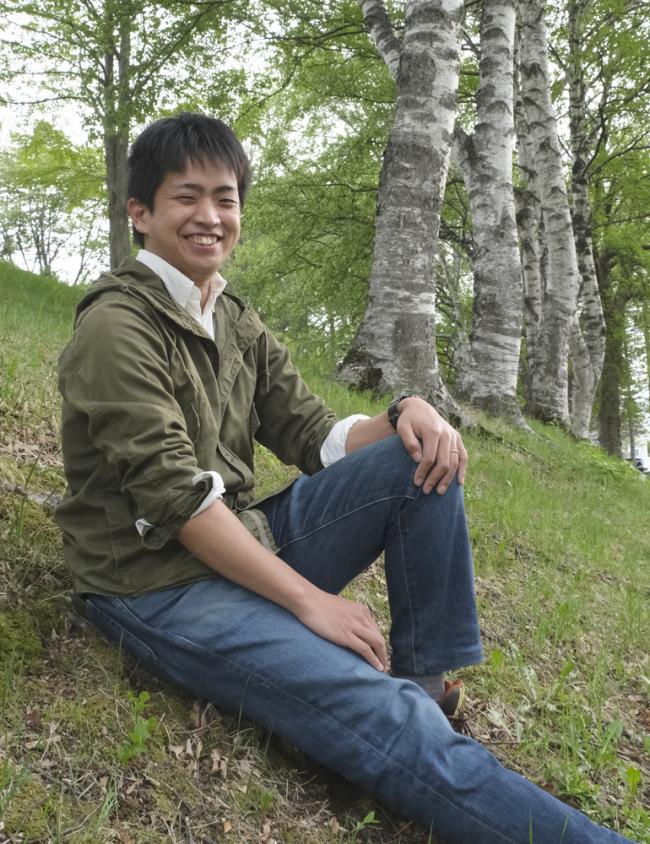 【写真】今日会えるイケメン(21)「みどりと花のセンター 大熊勲さん」【Chai】
