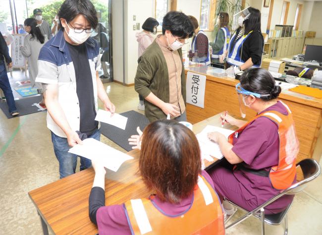 社員や家族ら1000人 西江建設で職域接種開始 新型コロナワクチン