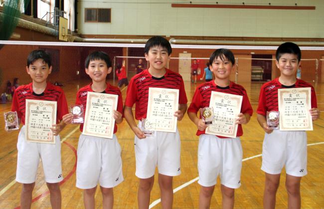 初の全国に挑むFlap十勝 若葉カップ全国小学生バドミントン