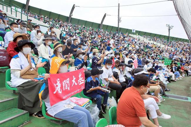 帯広で2年ぶり日本ハム戦 18年以来勝利飾る 鬼太郎が始球式