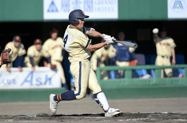 帯農17年ぶり4強入り 清水殊勲打、水口好投 高校野球北北海道大会