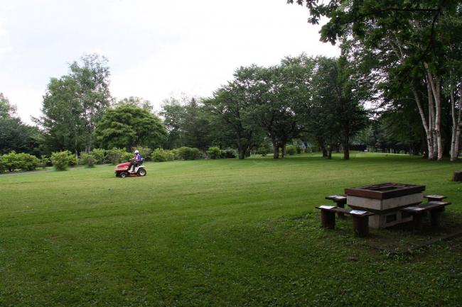 清水公園でキャンプ試行 来年度以降の本格実施視野に