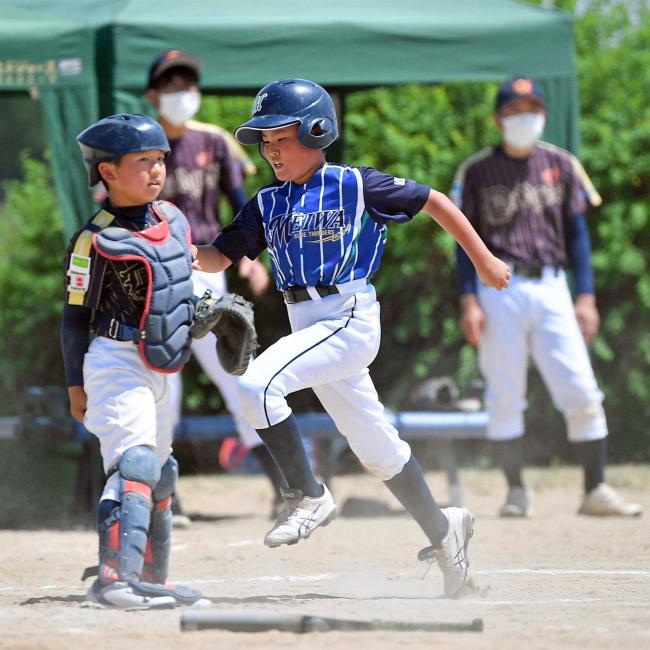 明和初V 6―3啓北・北栄 帯広ちびっこ野球大会