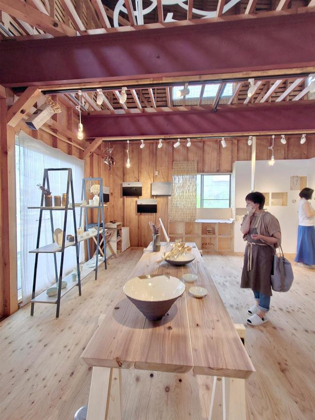 管内アーティストの展示・販売イベント開催中 幕別