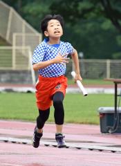 男子4年400メートルリレー 十勝陸クA・山口丈歩