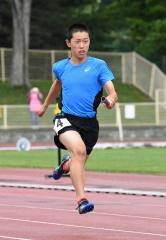 男子6年400メートルリレー Spo―RE札内・野代琉生