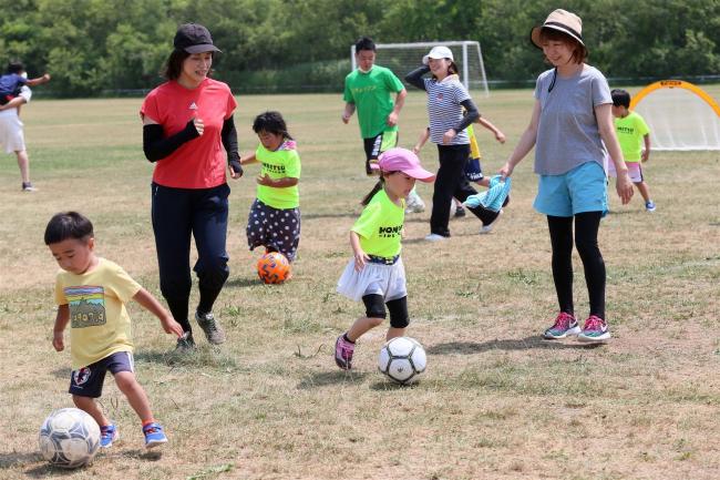スポーツを楽しもう― 本別で親子運動オリンピック