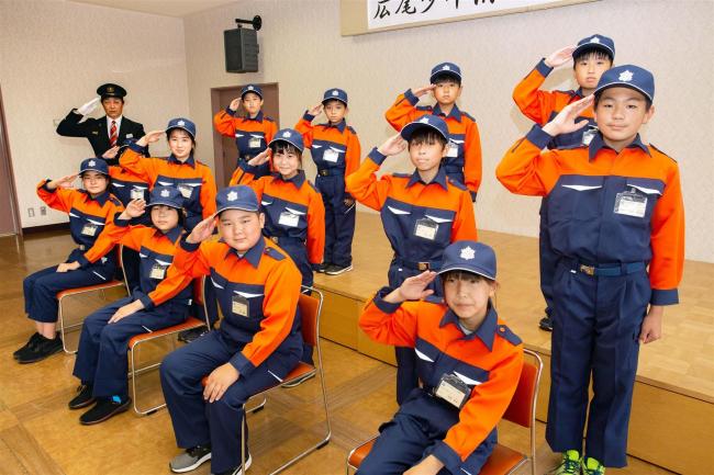 広尾少年消防クラブが今年度の活動開始