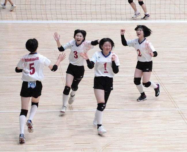 帯南町女子初優勝、男子は帯広合同連覇 全十勝中体連バレーボール