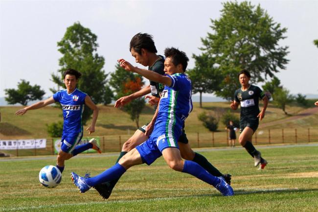 スカイアース2―1で札幌蹴球団に勝利、開幕3連勝 サッカー道リーグ第3節