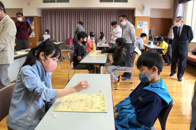 芽室で全十勝こども将棋大会