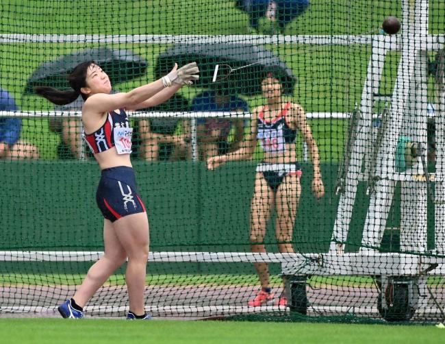 女子ハンマー鈴木は22位、男子1500菅原予選落ち 全国高校総体陸上競技初日