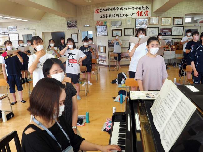 総文祭に管内7校6部門に出場 コロナ下で2年ぶりに開催地和歌山へ