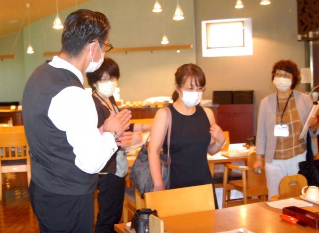 十勝川温泉で新型コロナ対策を指導 音更