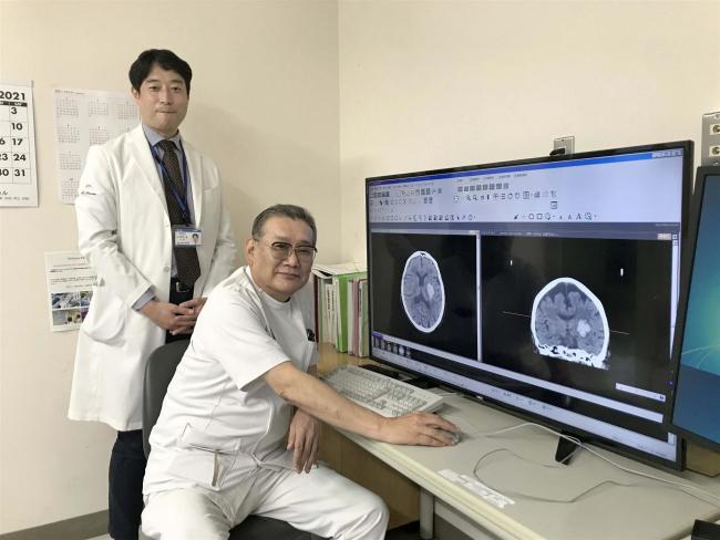 【写真】北斗と自治体病院が連携し、脳や心臓の画像診断
