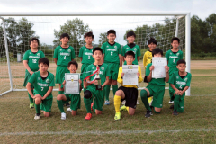 Dブロック優勝の帯広FC