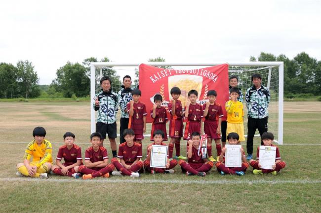 開西つつじが丘Jr.など4チーム全道へ ロバパンCUP全道U―12サッカー十勝予選