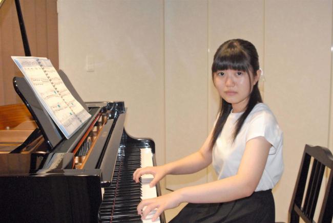 ピアノ全国コンクールに出場へ 下音更中の井上さん