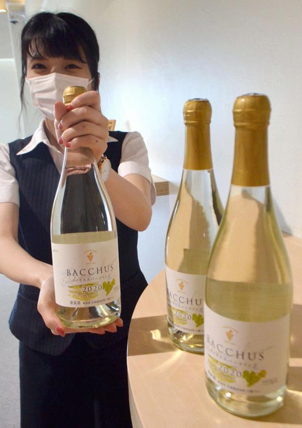 白ワイン「バッカススパークリング」を新発売 池田