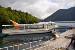CFで修理、運航再開 然別湖遊覧船「いさを号」 2