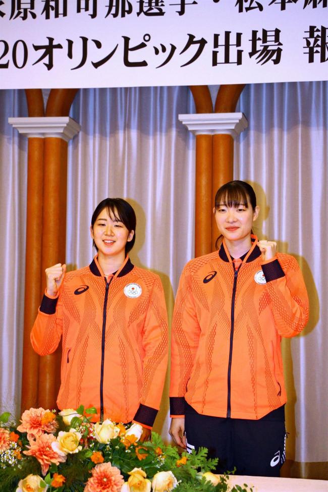 パリ五輪への方向性は未定、ナガマツペア 札幌で報告会見