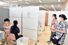 飲食店関係者などに集団接種 幕別 3