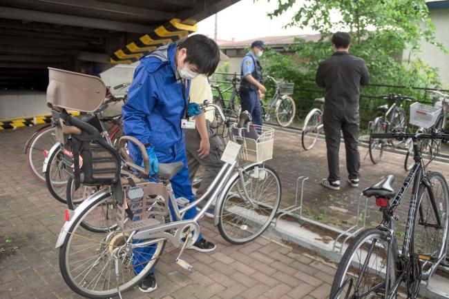 駅周辺の放置自転車を撤去 幕別