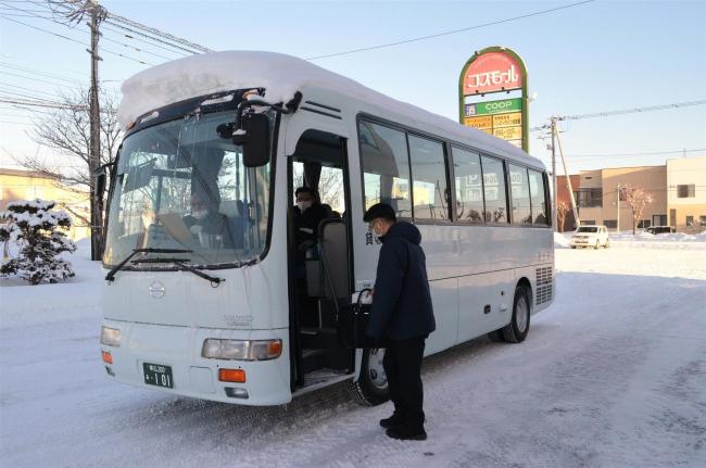 10月18日からコミバス実証運行 大樹