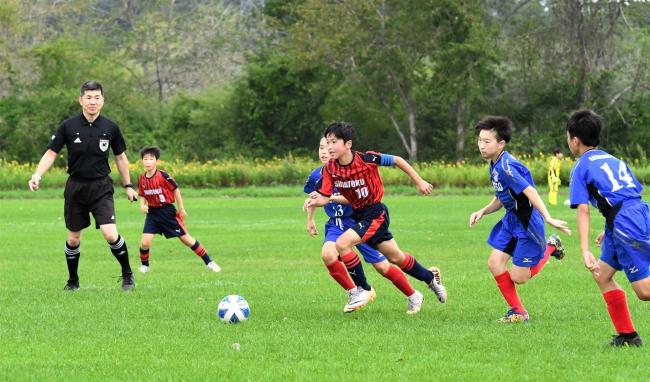 プログレッソ、開西つつじが丘、音更UN、稲田、しんとく道東へ U12サッカー十勝代表決定戦