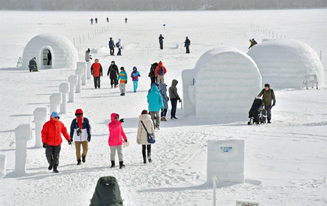 幻の村「しかりべつ湖コタン」 サントリー地域文化賞 冬の魅力発信「上級の遊び空間」