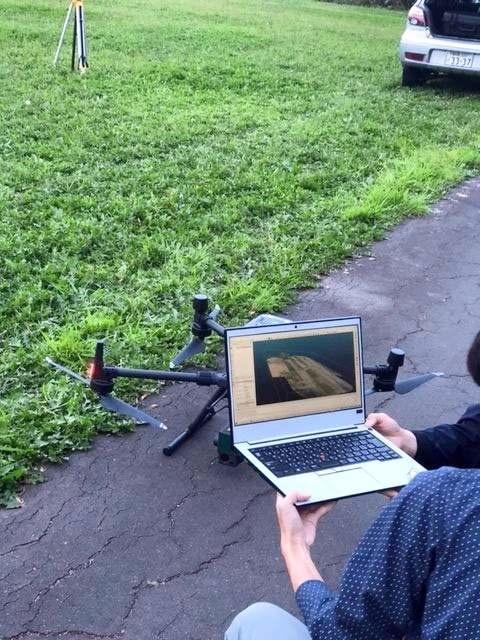 ドローンの3D測量、農業や林業のスマート化に応用 更別