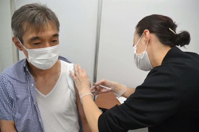 帯広日産の職域接種始まる 約380人分