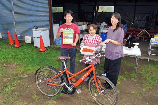 サイクリング&シーベリー狩り 18日にコラボ企画 士幌・芽室