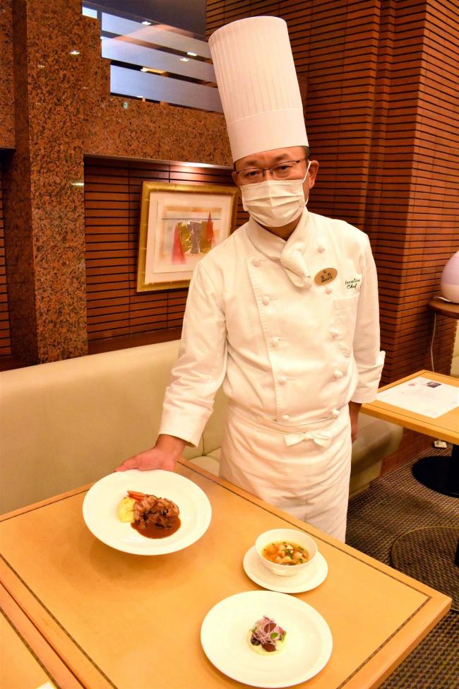 最後のフェアも「十勝の味覚」 閉館するホテルオークラ札幌でフェア