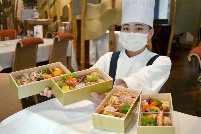 「敬老の日」向けの弁当を販売 北海道ホテル