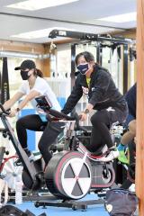 高木美帆「北京で勝ちにいく滑りを」 スピードスケートナショナルチーム練習公開 11