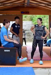 高木美帆「北京で勝ちにいく滑りを」 スピードスケートナショナルチーム練習公開 14