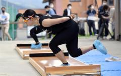 高木美帆「北京で勝ちにいく滑りを」 スピードスケートナショナルチーム練習公開 6