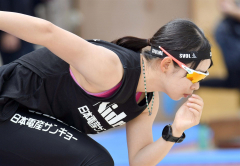 高木美帆「北京で勝ちにいく滑りを」 スピードスケートナショナルチーム練習公開 7