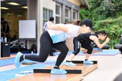 高木美帆「北京で勝ちにいく滑りを」 スピードスケートナショナルチーム練習公開 9