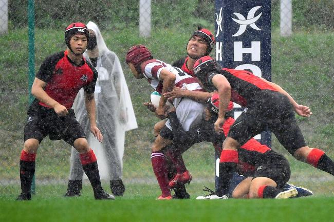 帯柏葉初戦惜敗、執念の守備も後半ロスタイムに逆転される ラグビー高校選手権北北海道