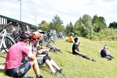 音更・幕別の川沿いのサイクリングルートもサブルートを目指している(14日)