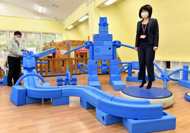 「子どもの殿堂」魅力アップ 遊具をリニューアル 帯広児童会館
