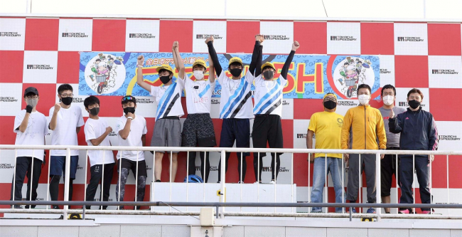 全日本ママチャリ、帯工レイクボールレーシングなど3部門で十勝勢V