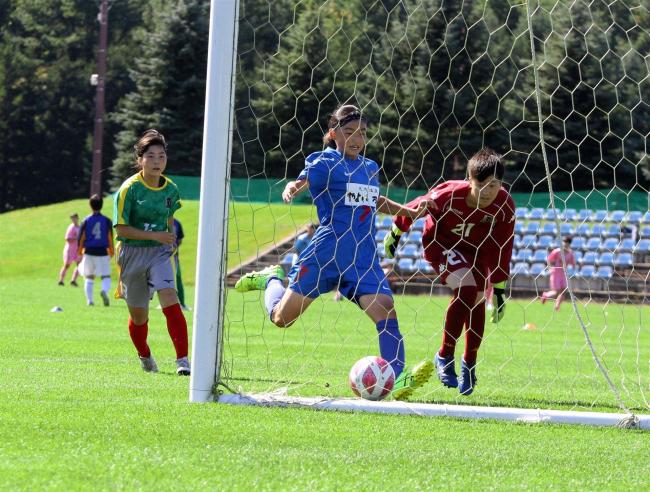 十勝FSリトルガールズ4強入り 2連覇へ前進 全日本U15女子サッカー選手権北海道大会